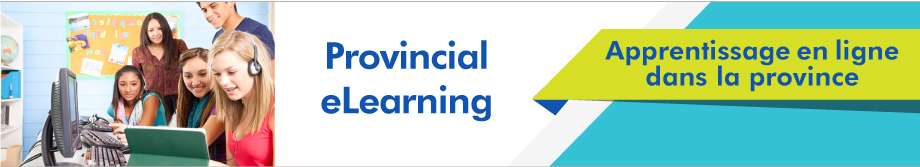 Provincial elearning